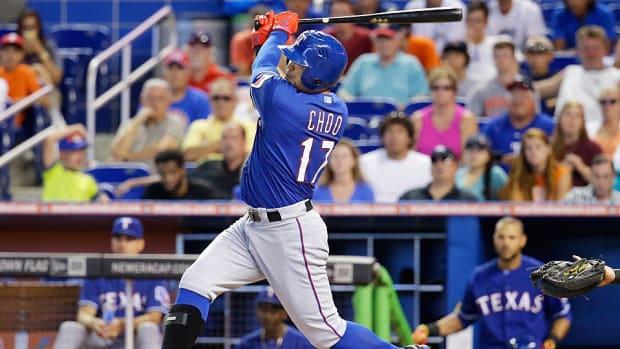 Shin-Soo Choo Texas Rangers