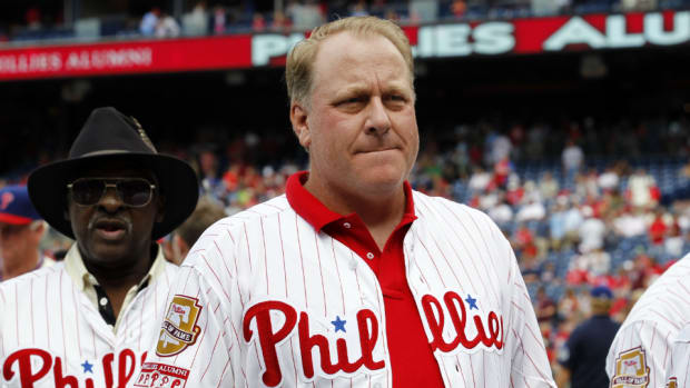 Former Red Sox pitcher Curt Schilling