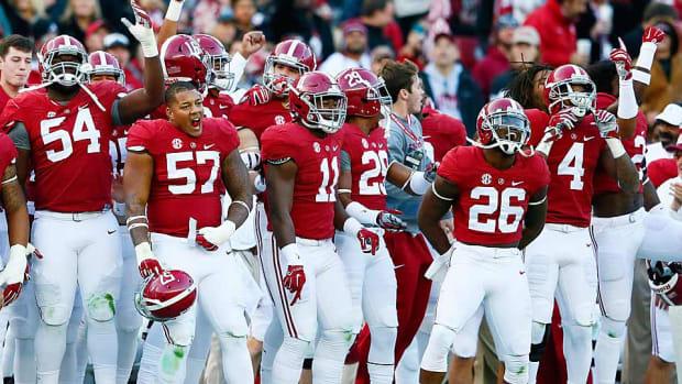 Alabama College Football Playoffs No. 1