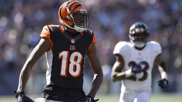 A.J. Green against Baltimore Ravens