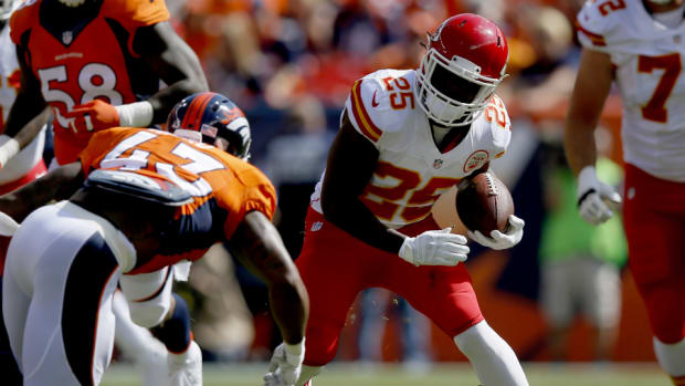 Chiefs RB Jamaal Charles injury ankle
