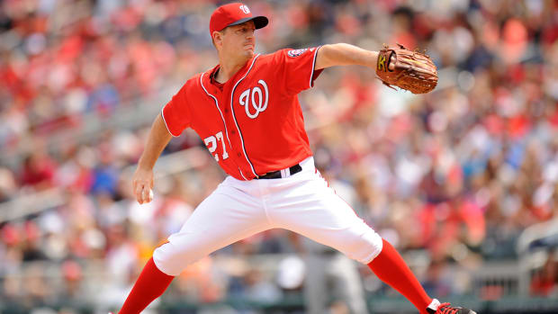 Report: Cubs discussing trade for Nationals pitcher Jordan Zimmermann IMAGE