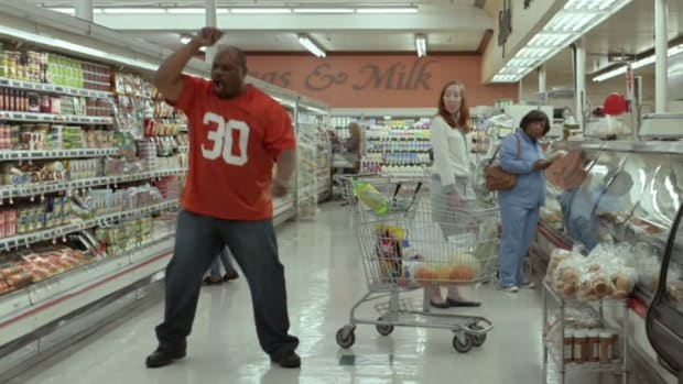 Ickey Woods of the Bengals brought his famous dance back in a Geico Commercial