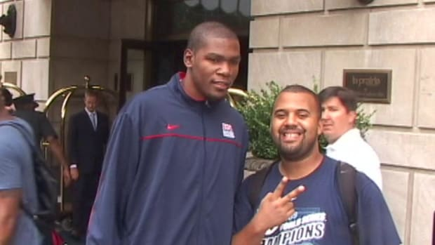Kevin Durant plans to play in 2016 Olympics