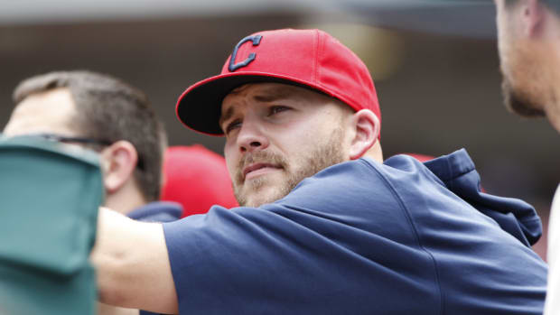 Cleveland Indians' Justin Masterson