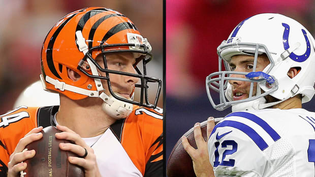 Andrew Luck vs. Andy Dalton: Which QB has more to prove? - image