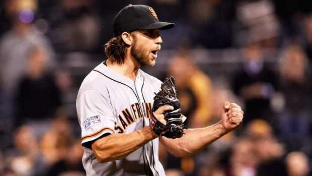 Why Madison Bumgarner was chosen as 2014 Sportsman of the Year - Image