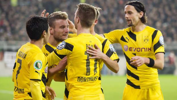 dortmund german cup