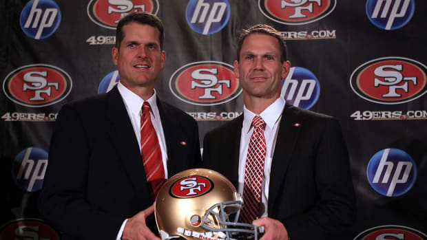 49ers GM confirms Michigan contacted team about Harbaugh