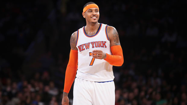 Carmelo Anthony wants to win a NBA championship for New York