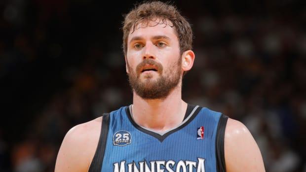 Kevin Love Timberwolves trade