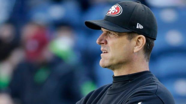 Jim Harbaugh 49ers head coach