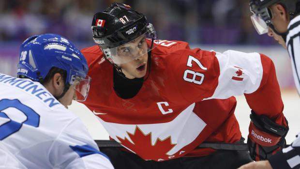 Sidney Crosby of Canada