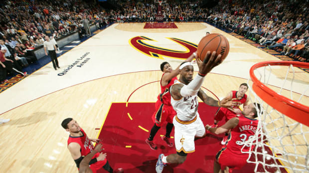 LeBron James Triple-Double Cleveland Cavaliers New Orleans Pelicans