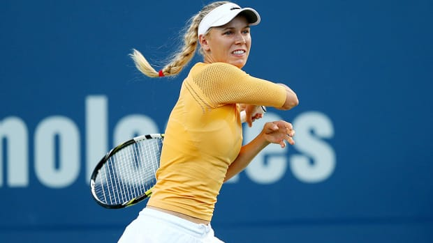 Caroline Wozniacki Connecticut Open first round