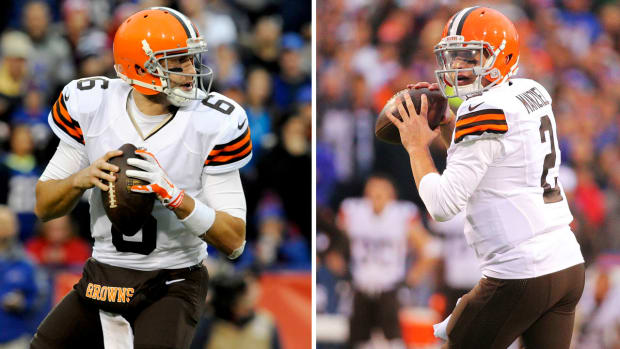 Which QB gives Browns the best playoff shot? - Image