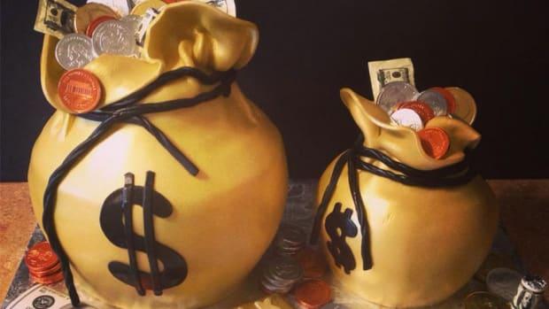 johnny manziel money birthday cake