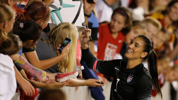 Hope Solo on U.S. Women's World Cup Qualifier roster