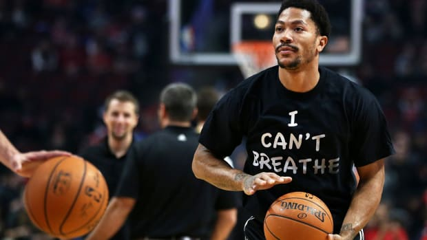 Marcus Stroud defends Derrick Rose wearing 'I can't breathe' shirt