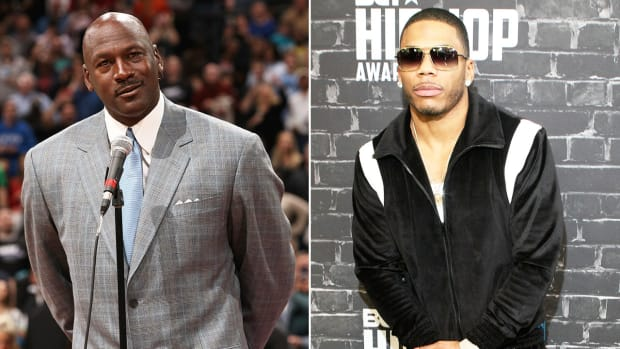 Michael Jordan and Nelly are rivals at what?