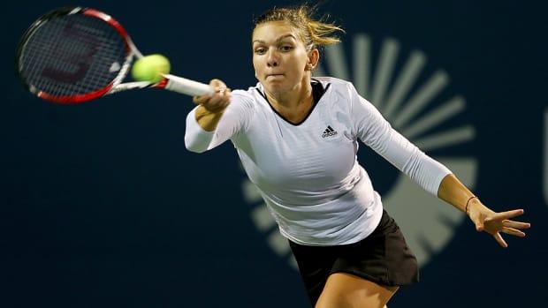 Simona Halep Connecticut Open