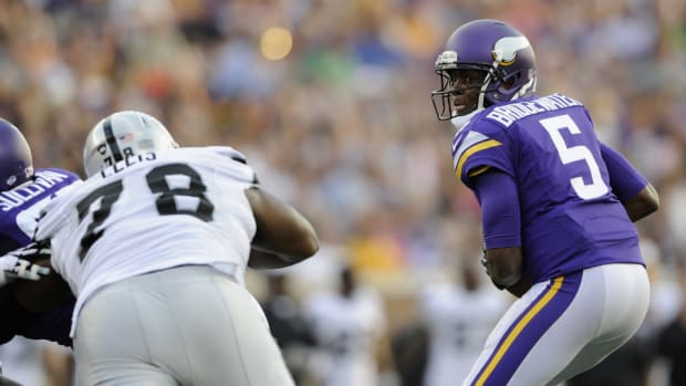 Minnesota Vikings quarterback Teddy Bridgewater