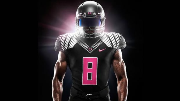 oregon pink breast cancer awareness uniforms