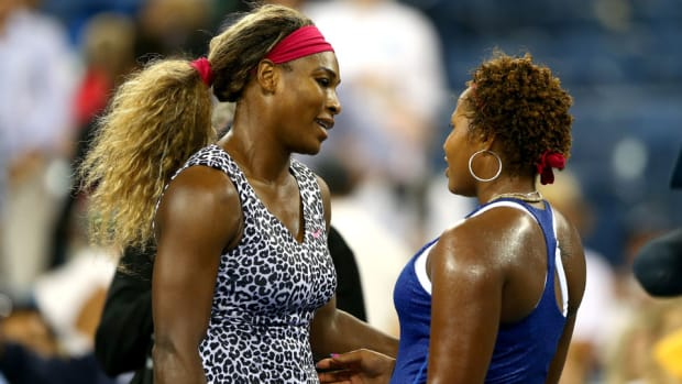 Serena Williams Taylor Townsend US Open round 1