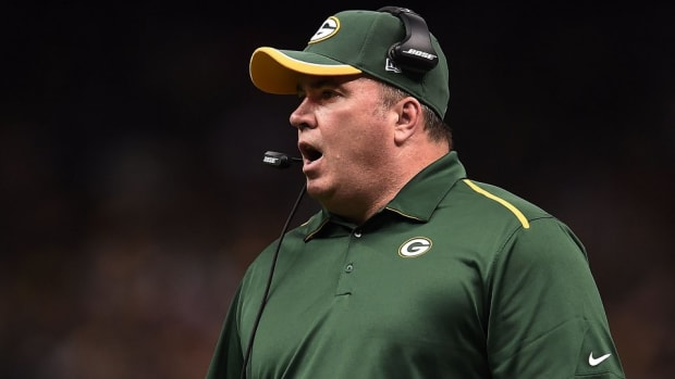 Packers' Mike McCarthy is angry even with a 41 point lead