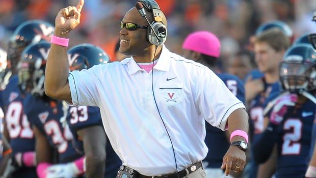Virginia announces Mike London will return next season IMAGE