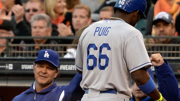 Yasiel Puig benched for Game 4 of NLDS vs. Cardinals