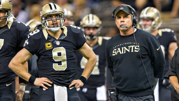 Drew Brees responds to report that Saints seeking replacement