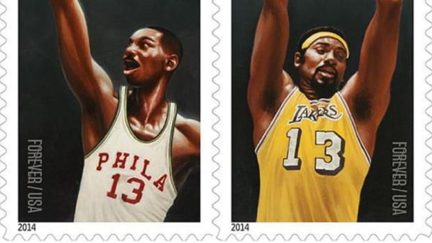 Wilt Chamberlain will appear on postage stamps