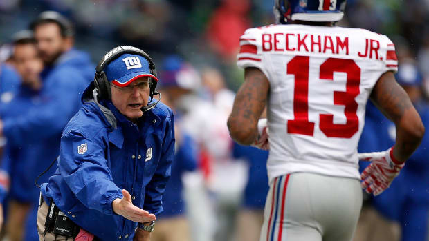 Tom Coughlin says Odell Beckham Jr. needs to 'tone it down'