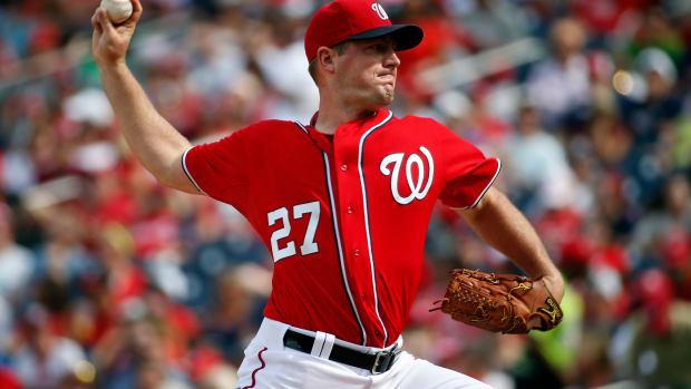 Jordan Zimmermann no-hitter Washington nationals