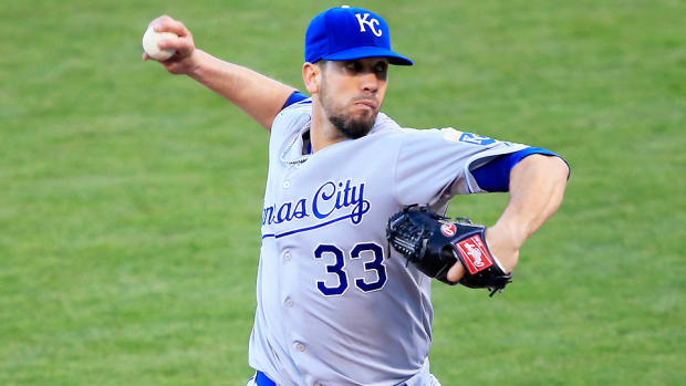 James Shields winter report card
