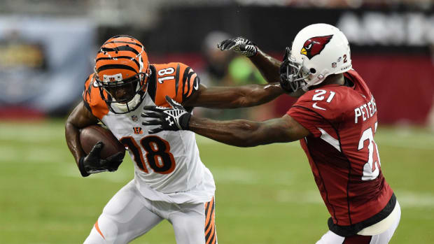 Bengals receiver A.J. Green toe injury