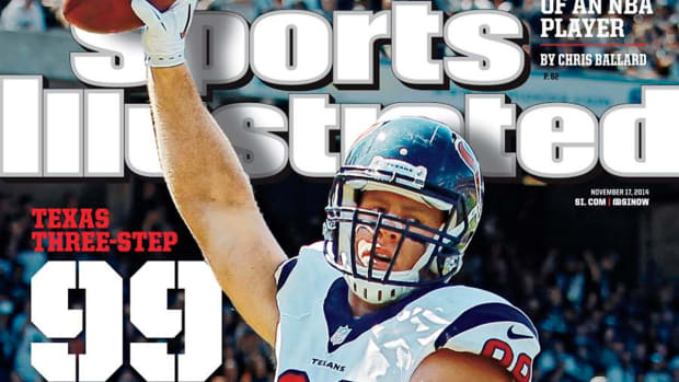 J.J. Watt featured on cover of Sports Illustrated