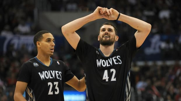 Kevin Martin just found out Kevin Love got traded