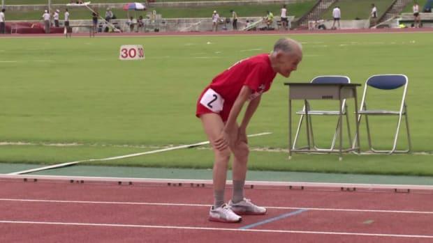 Hidekichi Miyazaki has challenged Usain Bolt to a race at age 103