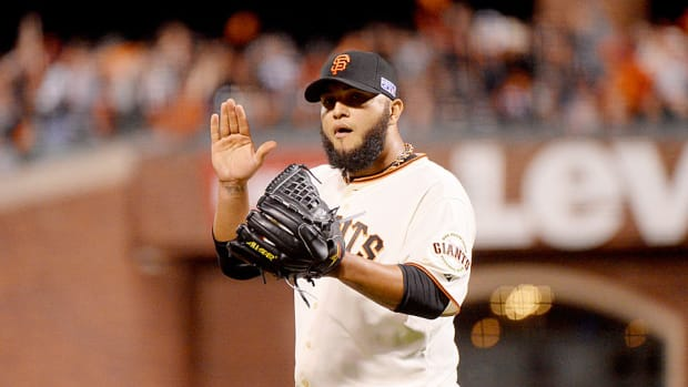 Yusmeiro Petit Giants NLCS Game 4