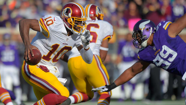 Jay Gruden: 'Jury still out' on RGIII IMAGE