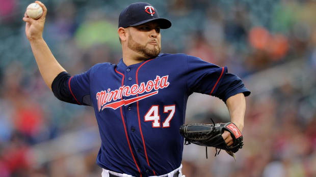Ricky Nolasco Elbow Soreness Minnesota Twins