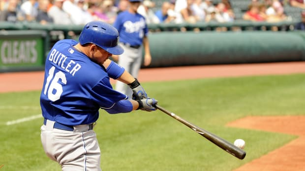 Report: Athletics, Billy Butler agree to three-year deal IMAGE