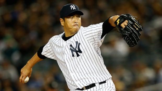 new york yankees hiroki kuroda japan return