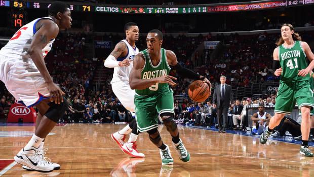 Report: Celtics revive Rajon Rondo trade talks IMAGE
