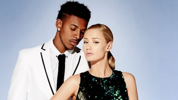 Lakers nick young Iggy Azalea forever 21 campaign
