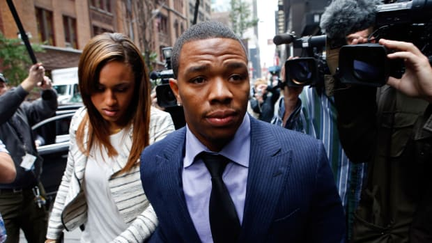 What does Adrian Peterson's suspension mean for Ray Rice? - Image