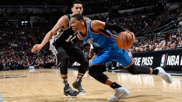 Russell Westbrook Thunder Spurs 960