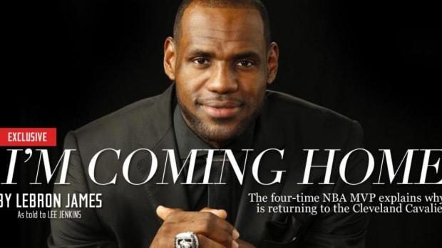 LeBron James' life changing decision